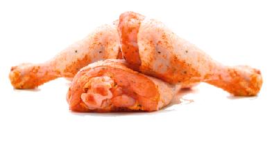 Куриная голень в маринаде с фото