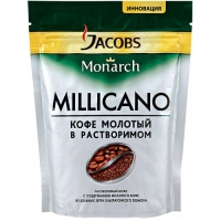 Кофе растворимый Jacobs Monarch Millicano 250 г