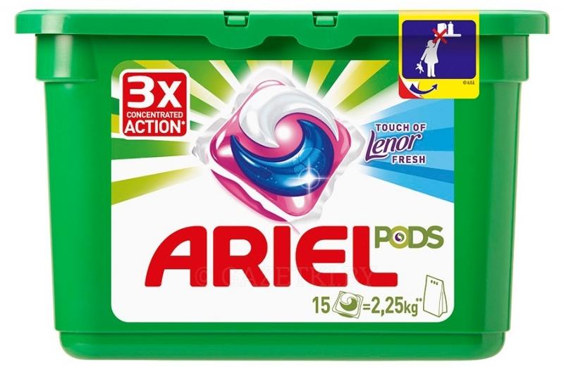 Гель-капсулы для стирки Ariel Color автомат, 15×28,8 г Киеве