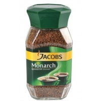 Кофе растворимый Jacobs Monarch натуральный сублимированный 95 г