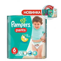 Трусики PAMPERS Pants Jambo Pack в ассорт.