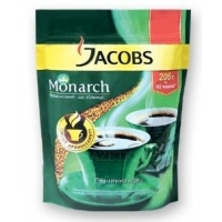 Кофе растворимый Jacobs Monarch, 65 г