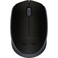Мышь LOGITECH Wireless Mouse M170 black