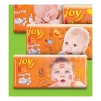 Підгузки ТМ Joy diapers for you Every Da (упаковка 44 шт., 50 шт., 56 шт., 62 шт.