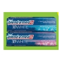 BLEND-A-MED Зубная паста 3d white luxe гламур 75мл