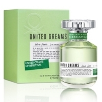 UNITED COLORS OF BENETTON United Dreams Live Free Туалетная вода, спрей 50 мл