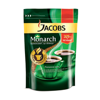 JACOBS MONARCH Кофе растворимый, 325г