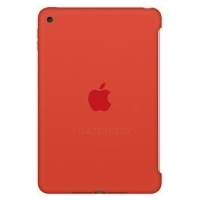 Чехол Apple Silicone Case MLD42 для iPad mini 4 (оранжевый)