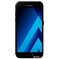 Samsung Galaxy A3 2017 Duos SM-A320 16GB Black + карта памяти 128гб!