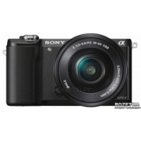 Sony Alpha 5000 16-50mm Kit Black (ILCE5000LB.CEC) + карта памяти 64гб!