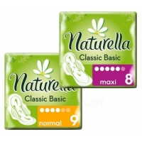 Прокладки гигиенические Ultra Camomile Night, 7 шт. Ultra Camomile Normal, 10 шт. TM «Naturella»