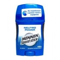Дезодорант-стик MENNEN Speed Stick Neutro Power, 50 г