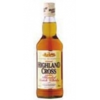Виски шотландский Highland Cross Blended Scotch Row&Co 40%, 1 л
