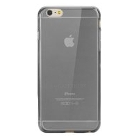 Silicone Case iPhone 6/6S Plus Clear/Grey