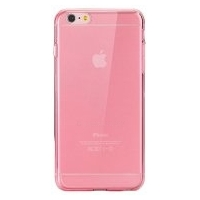 Silicone Case iPhone 6/6S Plus Clear/Rose