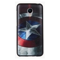 Чехол-накладка Wise Captain America для Meizu M3s
