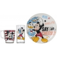 Детский набор Luminarc Disney Party Mickey из 3 предметов (L4871)