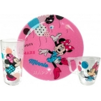 Детский набор Luminarc Disney Party Minnie из 3 предметов (L4877)