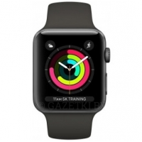 Смарт-часы Apple Watch Series 3 GPS, 42mm Space Grey Aluminium Case with Grey Sport Band (MR362FS/A)