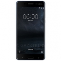 Смартфон Nokia 6 Dual Sim Tempered Blue