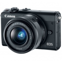 Фотокамера беззеркальная Canon EOS M100 + 15-45 IS STM Black (2209C048)