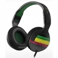 Наушники Skullcandy Hesh2 RASTA/GREEN/BLACK Mic1