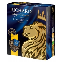Чай черный Richard Royal Earl Grey 100×2 г/уп.