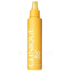 CLINIQUE Солнцезащитный спрей для тела virtu oil body mist SPF30 144 мл