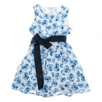 Платье BluKids Blue Flowers Торговая марка: BluKids