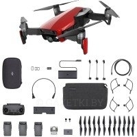 Квадрокоптер DJI Mavic Air Flame Red Fly More Combo (CP.PT.00000169.01)