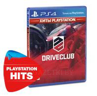Диск PS4 DriveClub (Blu-гау, Russian version)