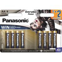 Батарейка PANASONIC AA LR6 Everyday Power Cirque du Soleil * 8 (LR6REE/8B2FCDS)