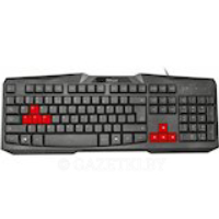 Клаивиатура TRUST Ziva gaming keyboard UKR (22114)