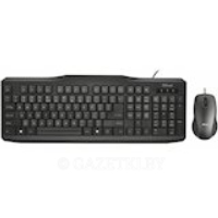 Набор TRUST Classicline Wired Keyboard and Mouse UKR (21873)