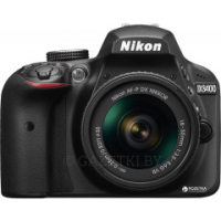 Nikon D3400 AF-P 18-55mm f/3.5-5.6G Kit Black (VBA490K002)