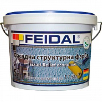 Краска Feidal Fassad-Relief economic 10 л