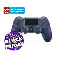 Джойстик DualShock 4 для Sony PS4 V2 (Midnight Blue)