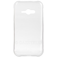 Чехол DIGI SAMSUNG J1/J110 - TPU Clean Grid Transparent