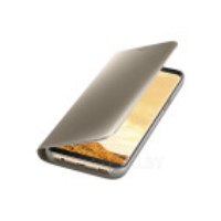 Чехол Samsung Clear View Standing Cover Gold
