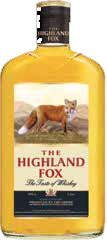 Настойка 40% ТМ The Highland Fox или Honey 0,5 л