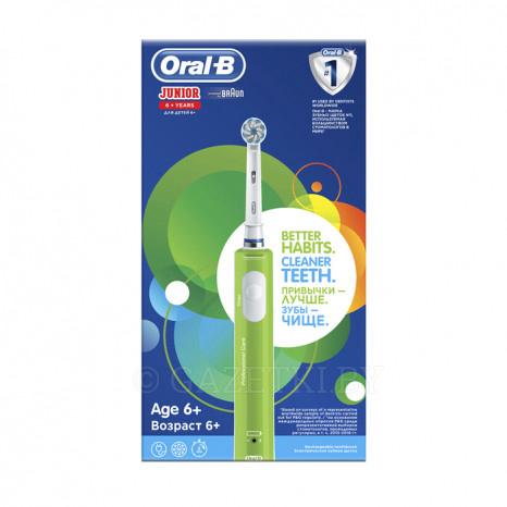 Детская электрическая зубная щетка oral b микки