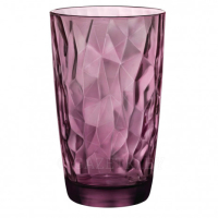 Стакан Bormioli Rocco Diamond Rock Purple, 470 мл