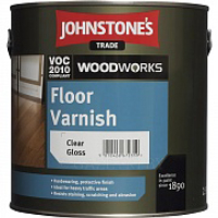 Лак Johnstone's Floor Varnish Clear Satin 5 л