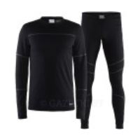 Термобелье Craft Baselayer Set M 999985 Black/Granite