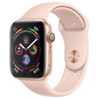 Смарт-часы Apple Watch Series 4 GPS 40mm Gold Aluminium Case with Pink Sand Sport Band (MU682GK/A)