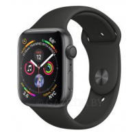 Смарт-часы Apple Watch Series 4 GPS 40mm Space Grey Aluminium Case with Black Sport Band (MU662GK/A)