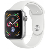 Смарт-часы Apple Watch Series 4 GPS 40mm Silver Aluminium Case with White Sport Band (MU642GK/A)