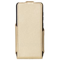 Чехол Red Point ERGO V551 Aura - Flip Case Gold