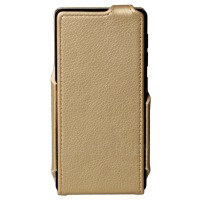 Чехол Red Point Bravis A511/A512 Harmony/Pro - Flip Case Gold