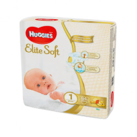 Подгузники Huggies Elite Soft 1, 2-5 кг, 84 шт.